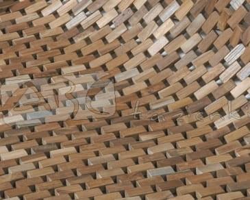 Sealskin Woodblock Mata Drewniana 60x60cm 293326674 Maty